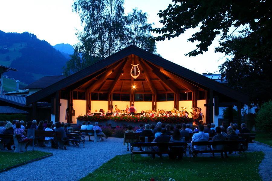 platzkonzert_der_trachtenmusikkapelle, Großarl