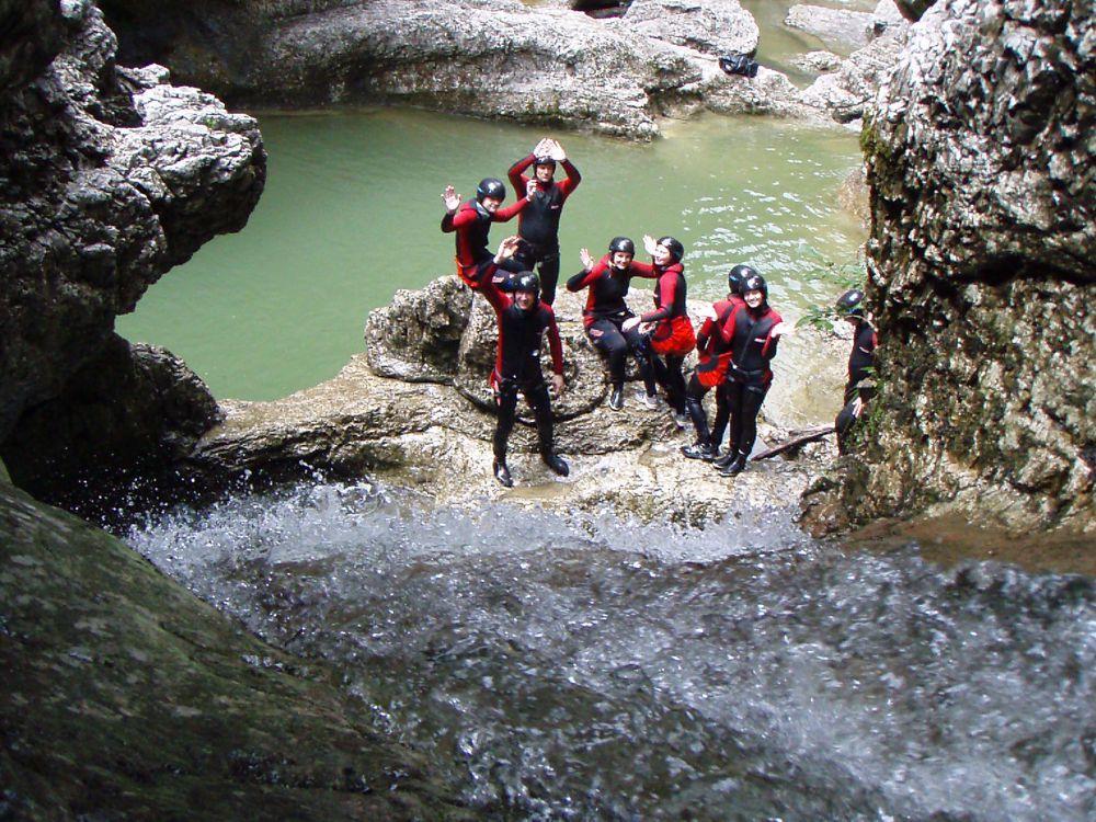 active_program_canyoning, Großarl