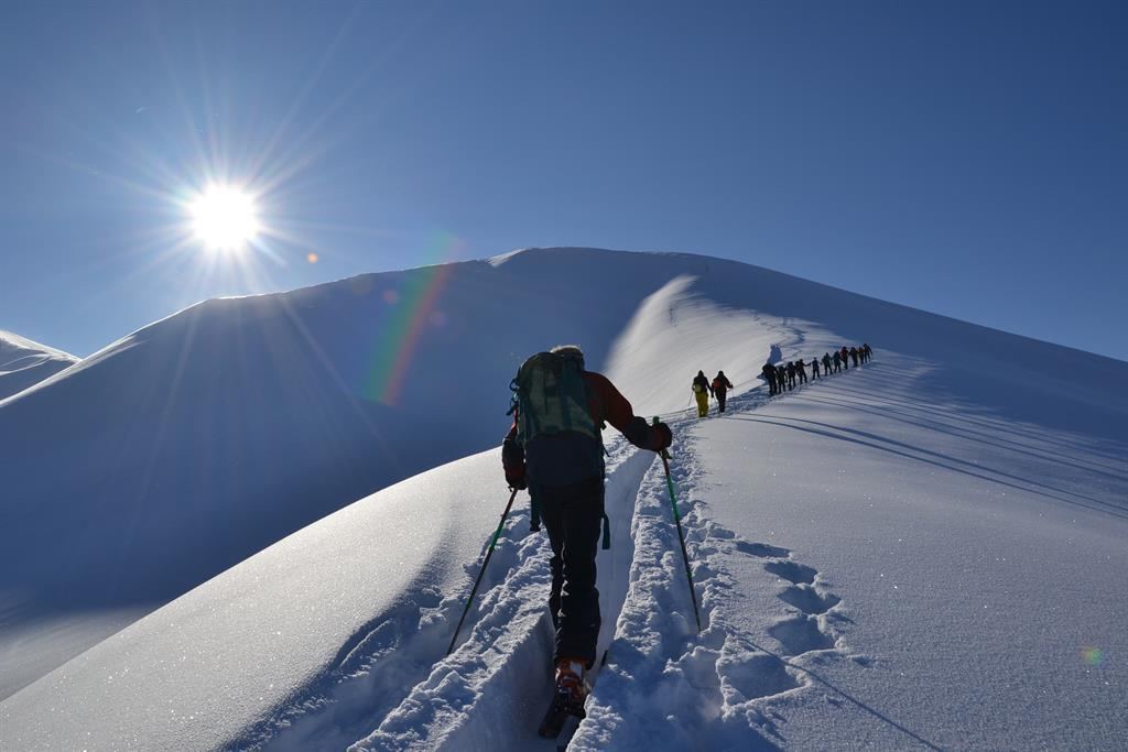 berg_gesund_skitour_kreuzeck_2204_m, Großarl