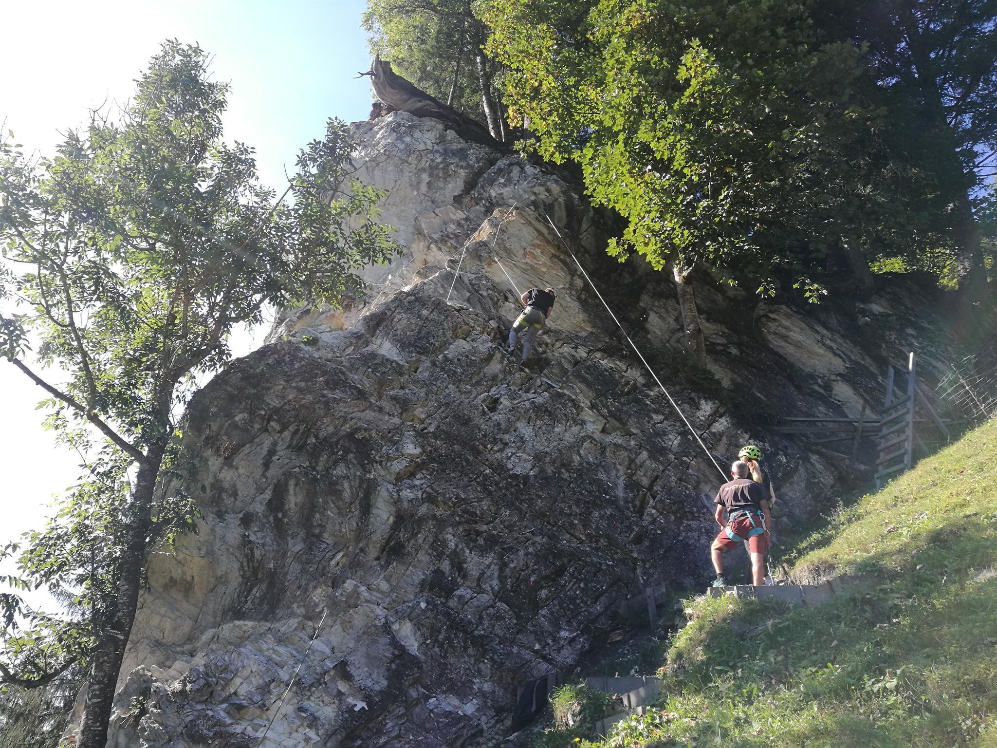 berg_gesund_rock_climping_, Großarl