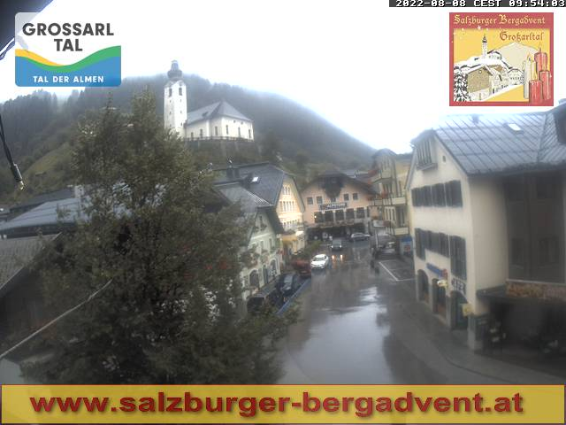 Webcam - Adventmarkt in Großarl, Salzburger Christkindlmarkt
