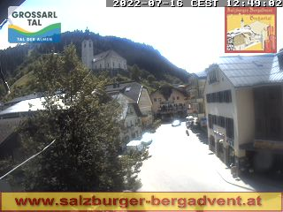 Webcam Grossarl Marktplatz